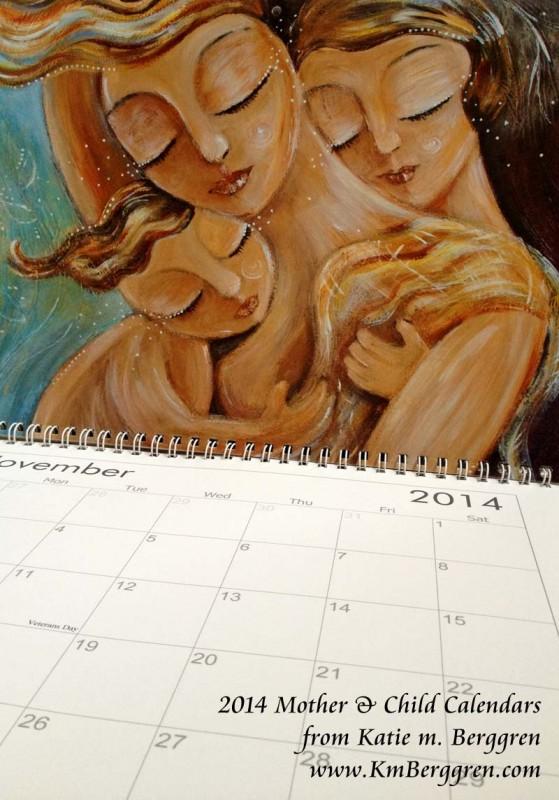2014 Mother & Child Calendar from Katie m. Berggren