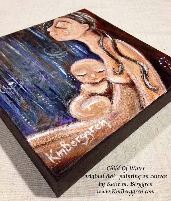 Child Of Water by Katie m. Berggren