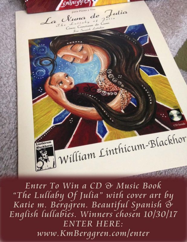 La Nuna De Julia - The Lullaby Of Julia - CD & Music Book Giveaway