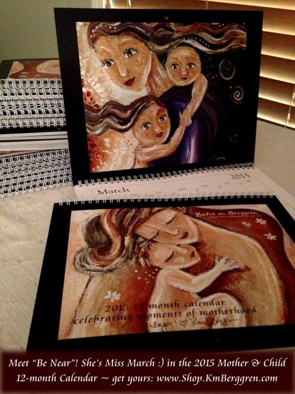 2015 Mother & Child Calendars from Katie m. Berggren