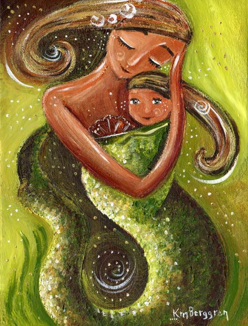 You Are In Charge ~ a new mermaid painting