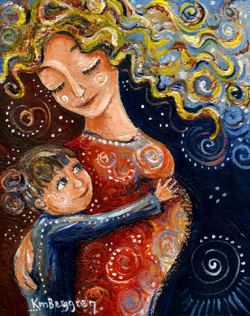 "Most Precious, original 8x10"" painting by Katie m. Berggren"