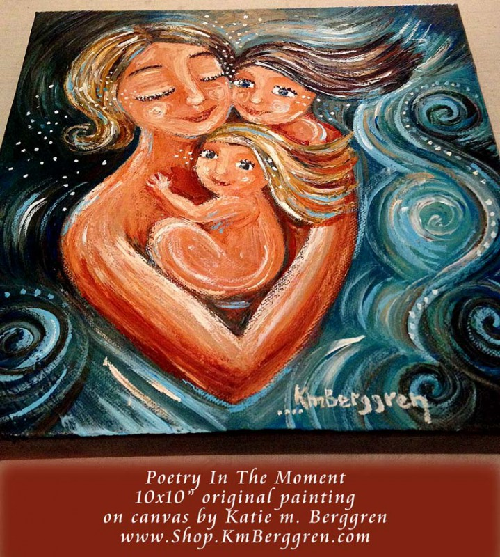 Poetry In The Moment by Katie m. Berggren