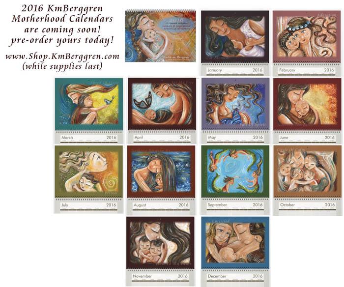 2016 Mother & Child Calendars from Katie m. Berggren
