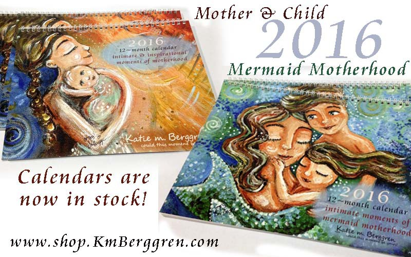 Motherhood Calendars from Katie m. Berggren