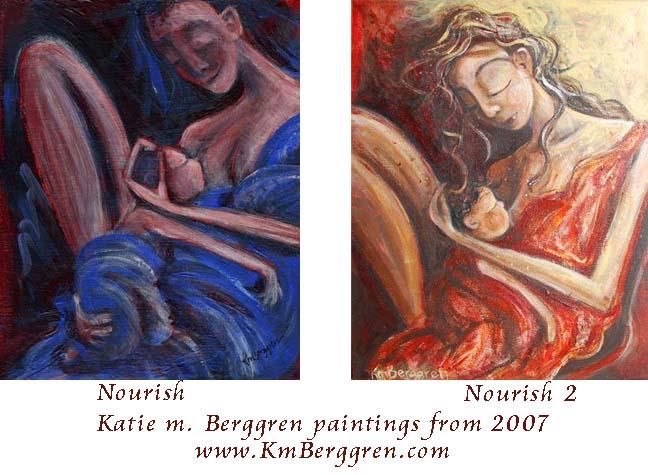 Nourish & Nourish 2 by Katie m. Berggren