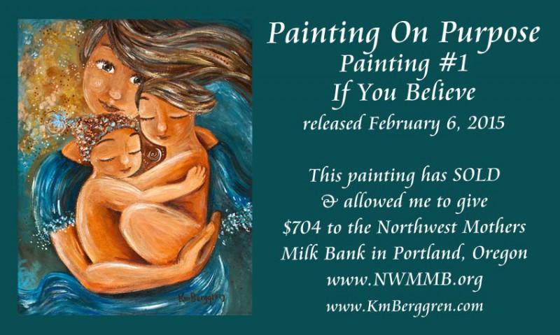 Painting On Purpose, Painting #1 ~ 2015