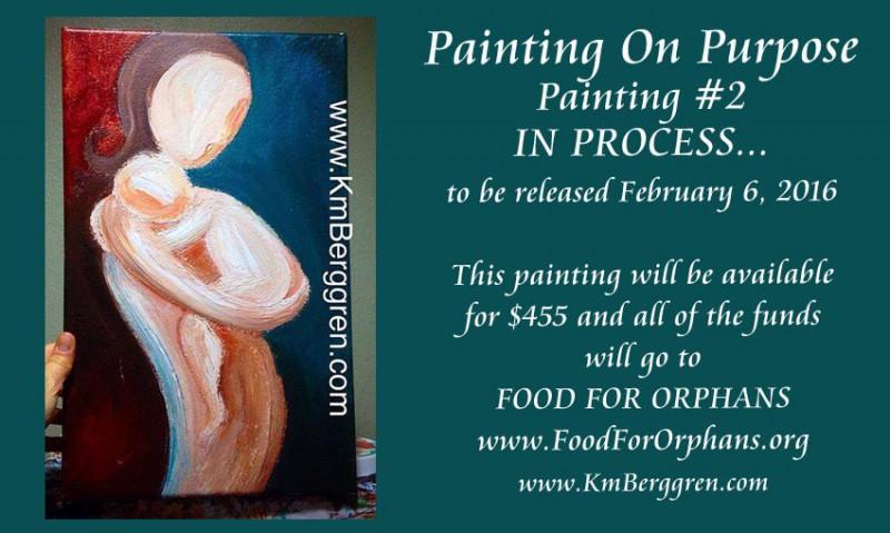Painting On Purpose, Painting #2 ~ 2016