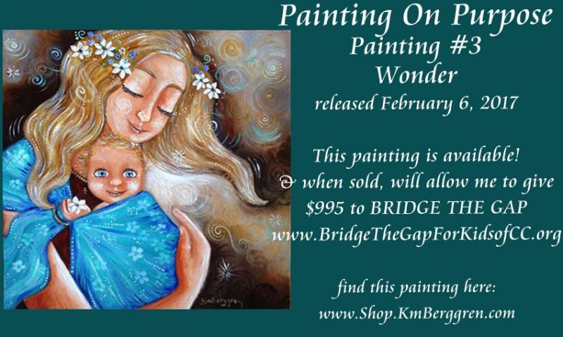 NOW AVAILABLE!! Wonder ~ an investment in LOVE for neglected children