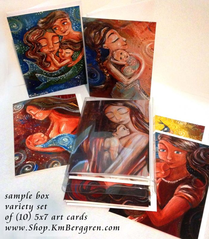 Box Of 10 5x7 Cards from Katie m. Berggren