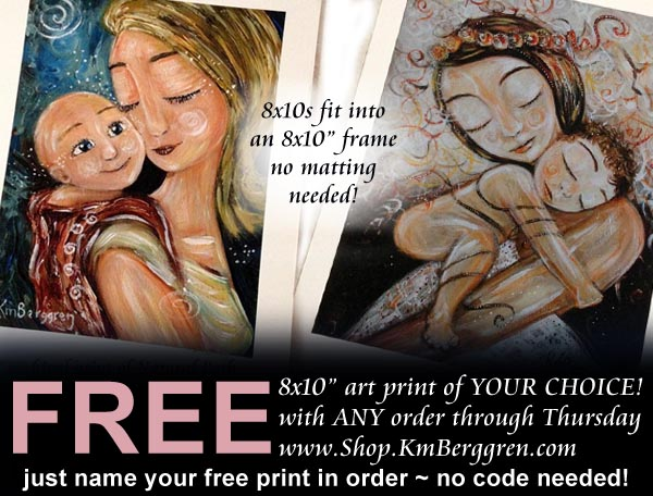 special offer ends today… new butterfly motherhood painting