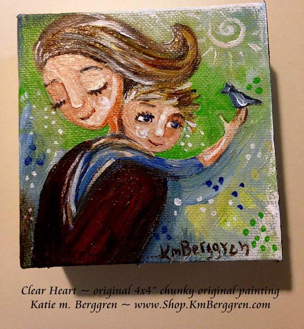 Clear Heart by Katie m. Berggren, www.Shop.KmBerggren.com