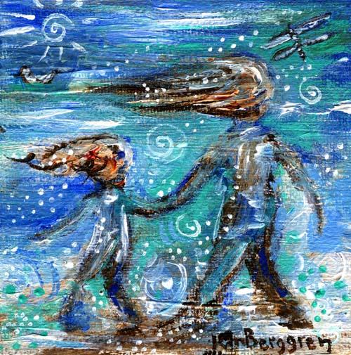 Dreamy Sea by Katie m. Berggren