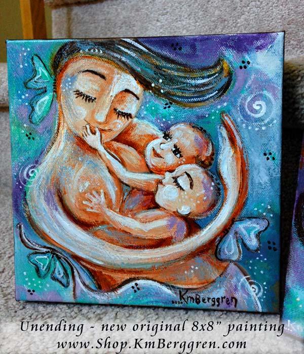 Awake & Unending – vibrant love… Inspirational Motherhood Magnets