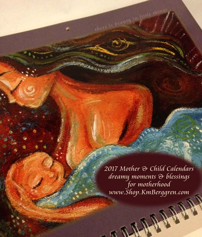 2017 Motherhood Blessing Calendar from Katie m. Berggren