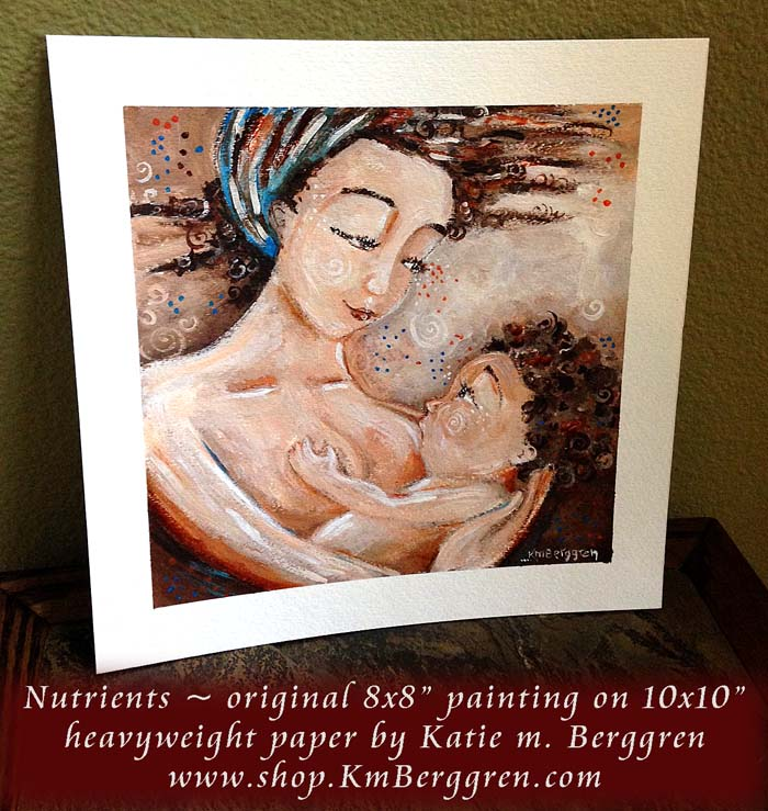 Nutrients-original painting by Katie m. Berggren