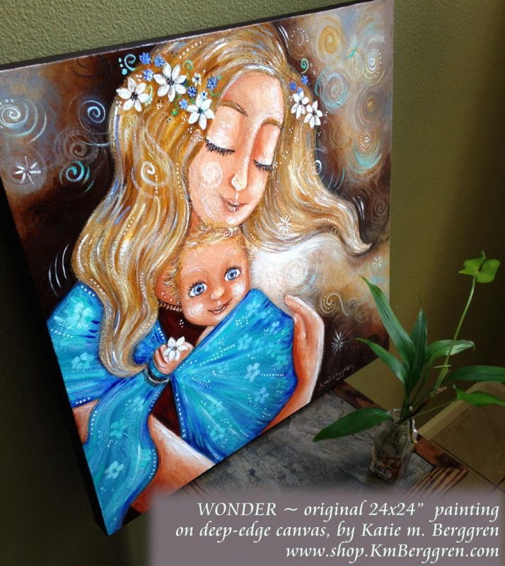 Painting On Purpose painting #3 by Katie m. Berggren
