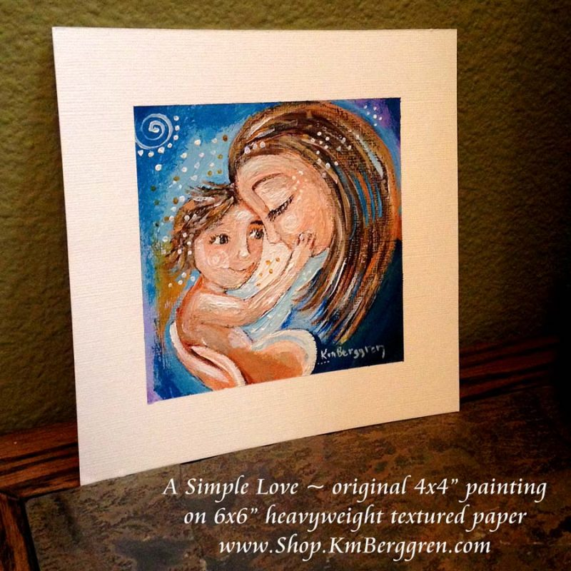 Mini Paintings being released this week – update on Painting On Purpose!
