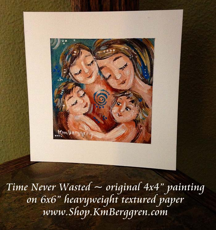 Time Never Wasted by Katie m. Berggren