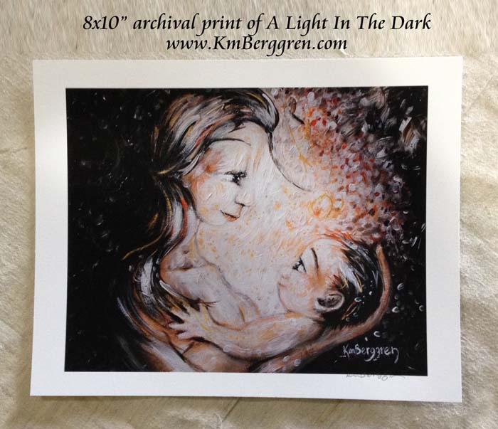 A Light In The Dark by Katie m. Berggren