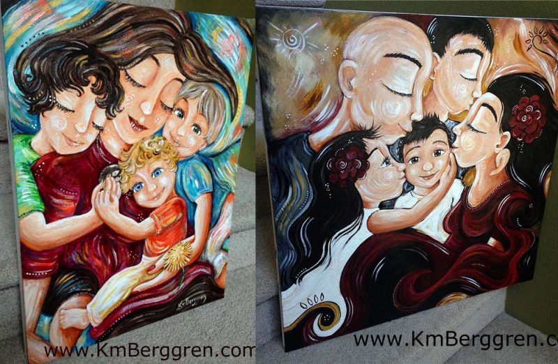 Custom Original Paintings by Katie m. Berggren