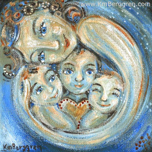 Bright Night ~ a brand new painting by Katie m. Berggren