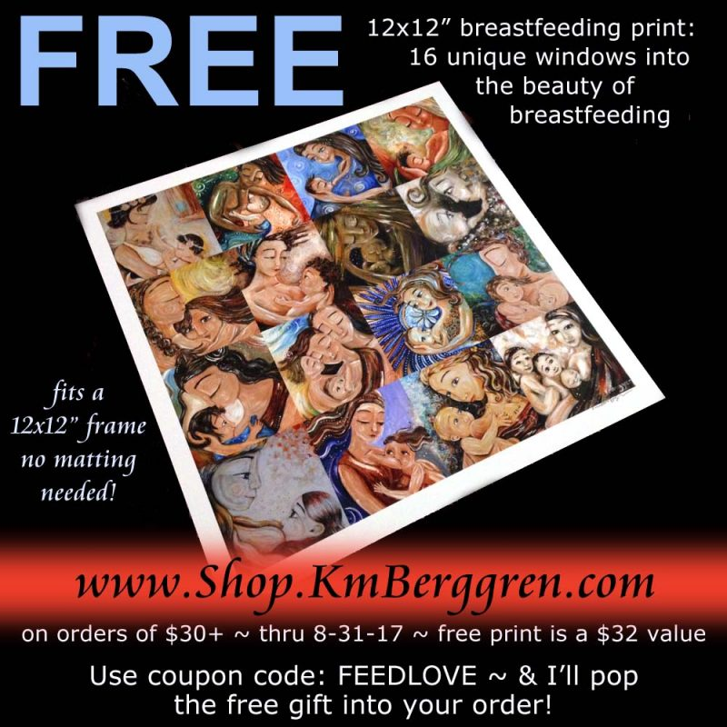 Free Breastfeeding Gift ~ Strength Of Heart for the Unhoused