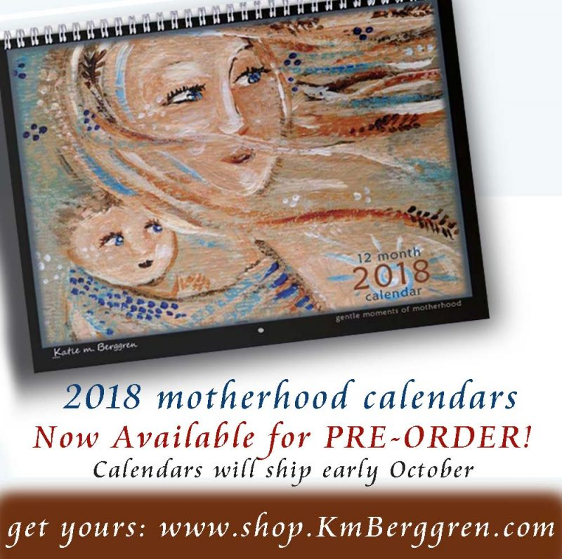 2018 Motherhood Calendars – available for Pre-Order!