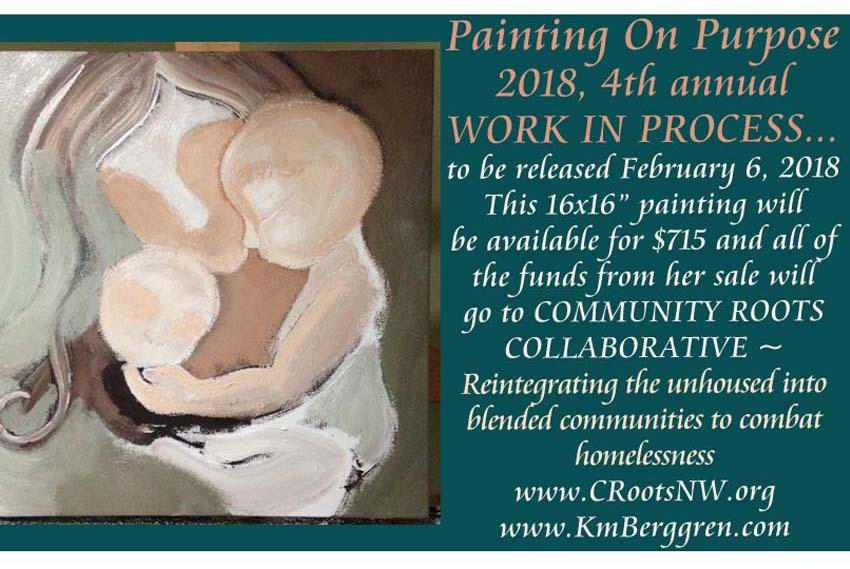 Painting On Purpose ~ to Shelter the Unhoused