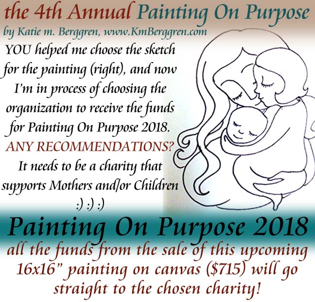 Painting On Purpose 2018 ~ the FOURTH Annual!