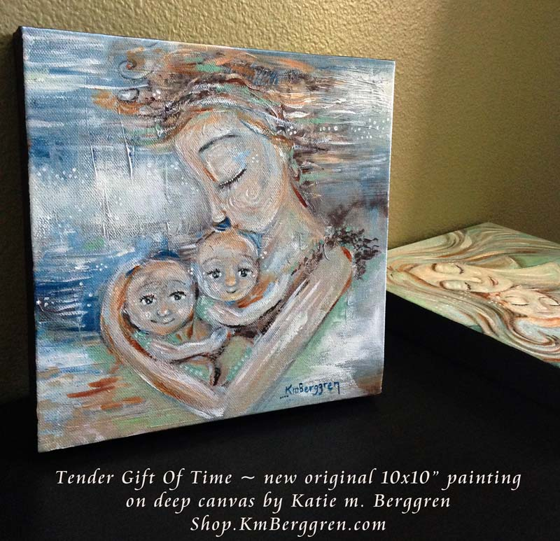 Tender Gift Of Time, new painting from Katie m. Berggren