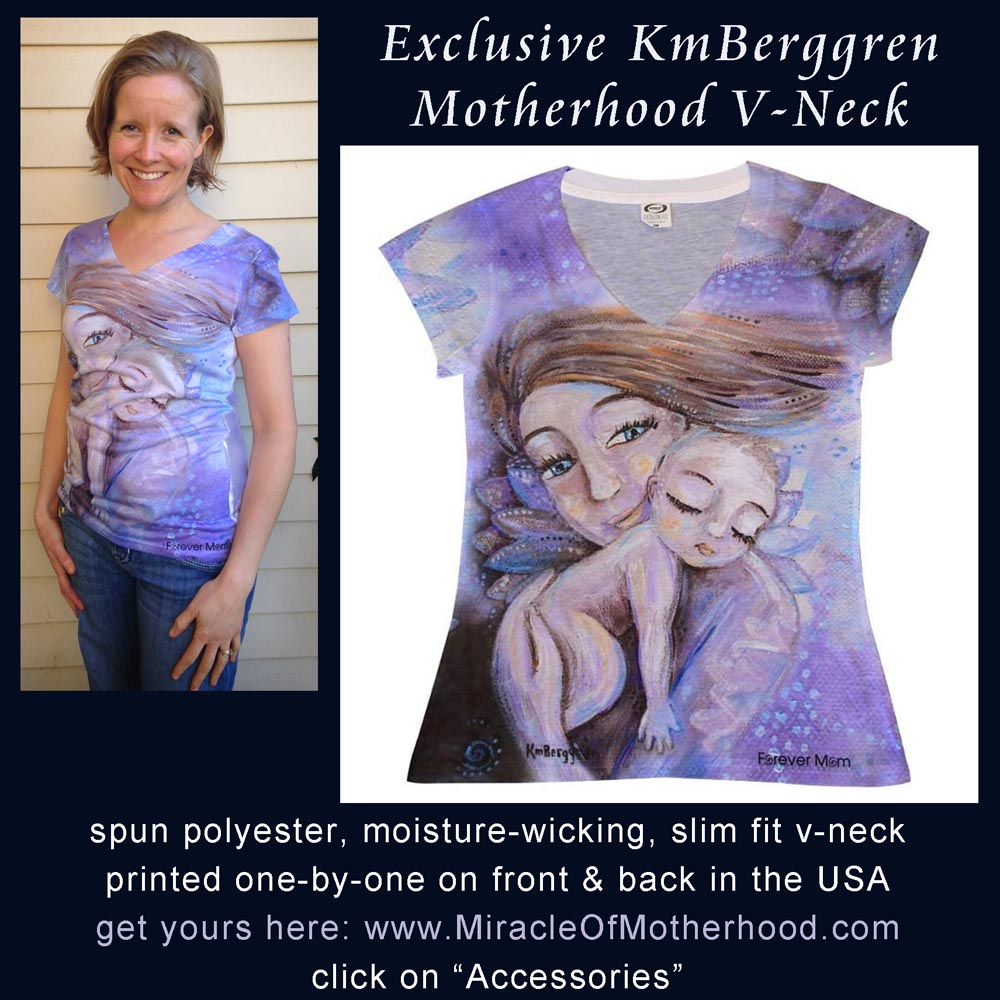 Get YOUR exclusive & unique Motherhood V-Neck, designed by Katie m. Berggren