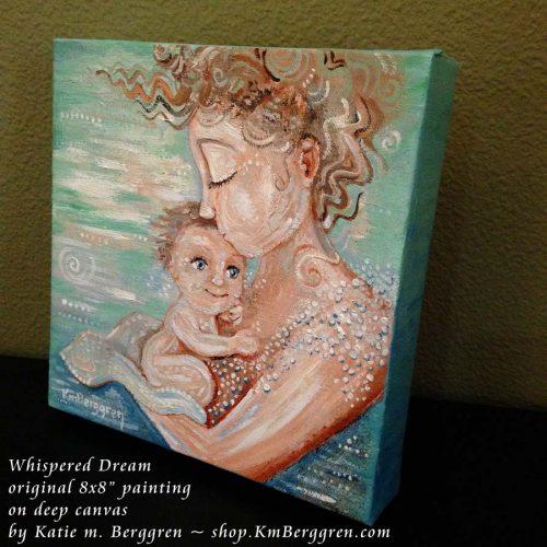 Whispered Dream new painting by Katie m. Berggren
