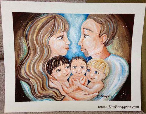 New custom original painting by Katie m. Berggren