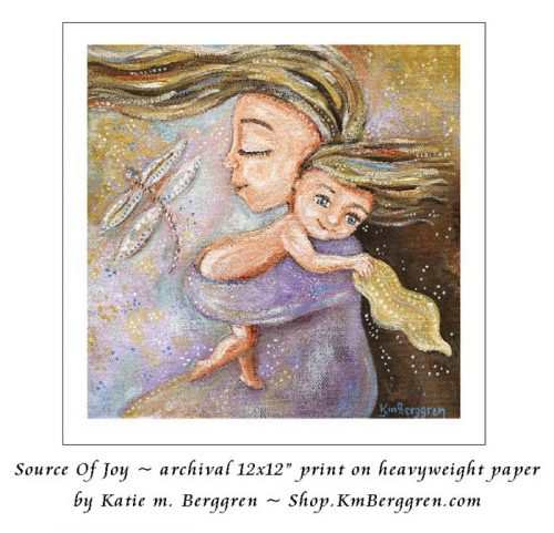 Source Of Joy -archival print from Katie m. Berggren