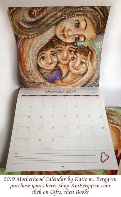 Meaningful Moments of Motherhood - 2019 Motherhood Calendar from Katie m. Berggren