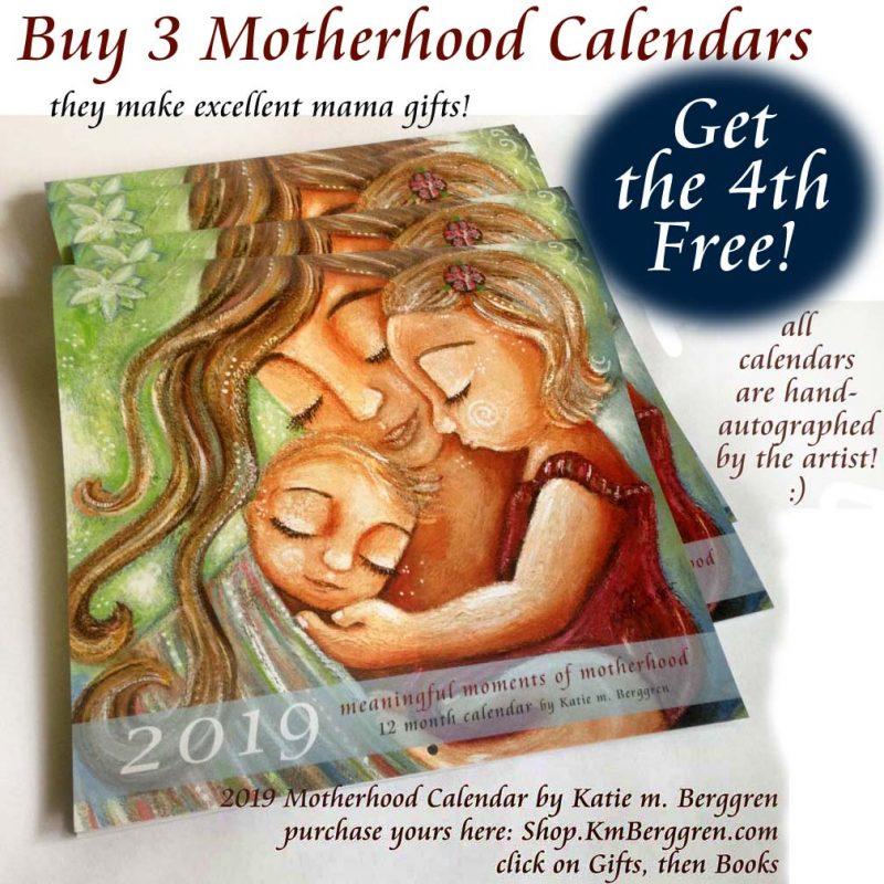 Buy3GetOneFree Motherhood Calendars