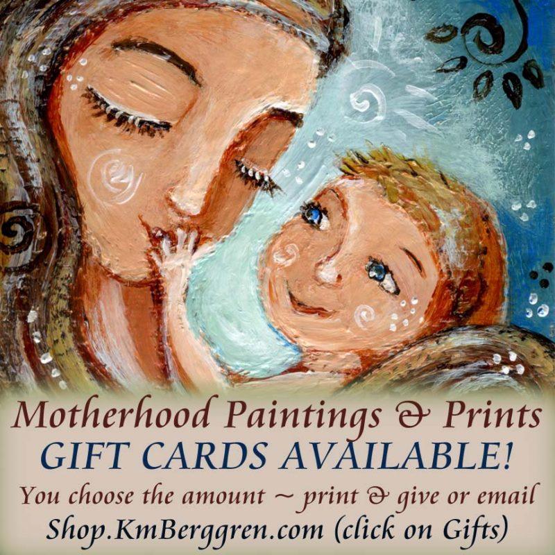 Gift Certificates for Motherhood Art