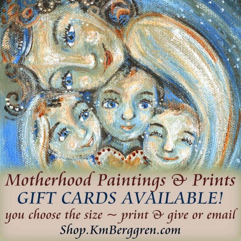 Motherhood Art Gift Certificates ~ Not Too Late💜