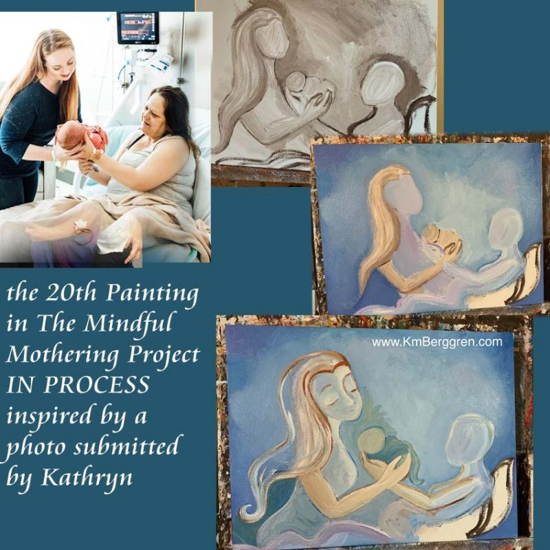The Mindful Mothering Project by Katie m. Berggren