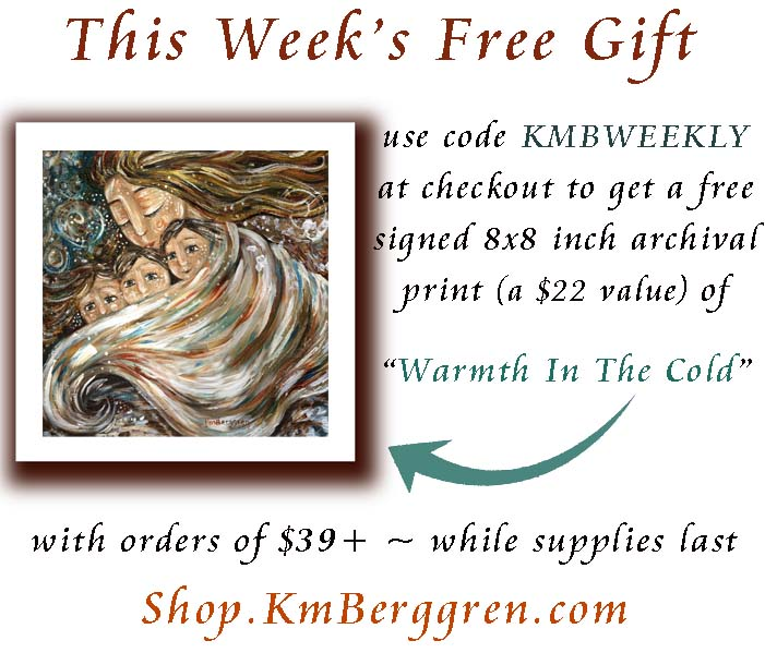 Our Love Runs Deep ~ Warmth In The Cold free weekly gift