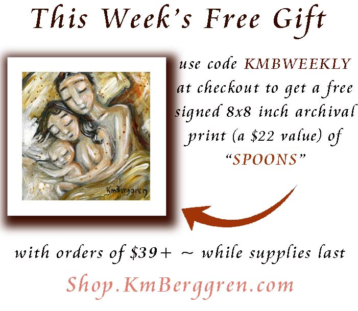 And in honor of Father's Day being Sunday, the Free Gift for this week is a print of SPOONS :)