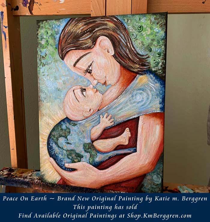 Peace On Earth by Katie m. Berggren - Shop.KmBerggren.com