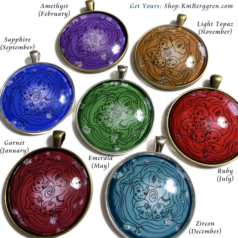 Customizable Colorful Pendants & Ornaments are here!